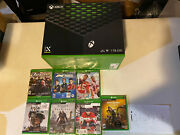 Microsoft Xbox Series X 1tb With 7 Video Game Console Bundle