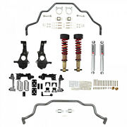 Belltech Lowering Kit For 2019-21 Silverado Sierra 1500 2wd Sway Bars And Coilover