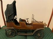 Unique Antique Hand-made Model Toy Car From Early 1900and039s
