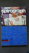 New Super Spirograph Denys Fisher 1973- Complete With 4 Original Pens