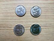 1982and1983--pd Andsjefferson Nickiel Set Of 6 Bu Unc Coins -2 Proof Coins