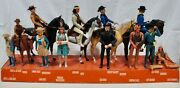 Best Of The West Store Display Andndash Johnny West Friends And Family Andndash 1973 Marx Toys