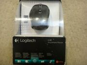 Logitech Anywhere Mx Wireless Laser Mouse For Pc/mac With Nano Unifying Receiver