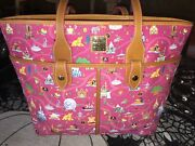 Dooney And And Bourke Disney Park Life Tote Nwt Disneyland Bag Purse New Mint