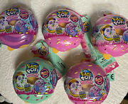 5 Pikmi Pops Surprise Doughmis Scented Mystery Plush Small Donuts Blind
