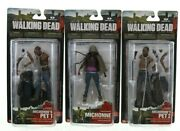 The Walking Dead Action Figures Series 3 Michonne W/ Pet 1 And 2