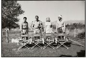 1960 Eve Arnold Photo The Misfits Marilyn Monroe Clark Gable Montgomery Clift