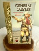 1st In Series General George Custer Legends Of The Old West 100 Complete Nib