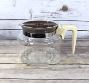 Vintage Proctor Silex Replacement 10 Cup Glass Pitcher Coffee Maker A301n W/ Lid