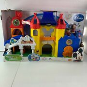 Fisher Price Little People Magic Of Disney Day At Disney Palace Castle Brand New