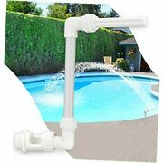 Water-fountain Swimming-pool Sprinkle Accessories - Waterfall Above In-ground