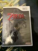 The Legend Of Zelda Twilight Princess Wii 2006 Cib Tested And Works