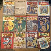 The Ring Boxing Magazines 1948 12 Issues Complete Set Jan-dec Vintage