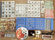 Junk Drawer Estate Cleanout Sale With Silver Coins And Costume Jewelry Unc Sets E