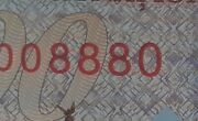 Romania 100 Lei 2019 Polymer Unc Banknote Bratianu Great Union Lucky Number 8880