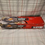 Weber Grill Rotisserie Spirit Ii 200 And 300 Electric Rotisserie Open Box