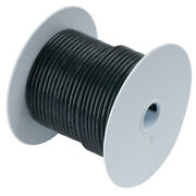Ancor Black 6 Awg Tinned Copper Wire 250' 112025
