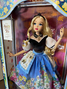 Disney Limited Edition Doll Alice In Wonderland Mary Blair New In Box