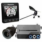 Raymarine I70s System Pack W/color Instrument And Wind Dst Transducers Itc-5...