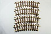 4 Pack Lionel G-scale Standard Curve Track, 2-3 Day Ship