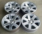 Four, 2005-2008 Chrysler 300 Oem Factory 17 Machined Wheels Rims 2361 Used