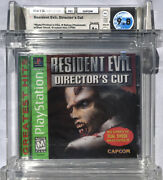 Sealed Wata 9.8 A+ Ps1 Resident Evil Directorand039s Cut Greatest Hits Playstation