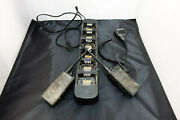 Motorola Rdx Rdu4100 Two Way Radio And Rpn4055a Charger Used