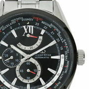 Orient Wz0061jc Orient Star World Time Menand039s Watch From Japan N0909