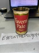 Rare Antique 50's Tavern Pale Beer Flat Top Can W/ Handle Promotion 257a