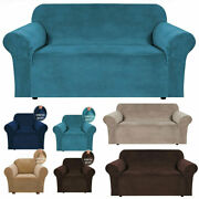 1/2/3/4 Seat Stretch Loose Chair Sofa Couch Cover Elastic Slipcover Protector