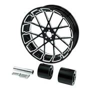 18and039and039 Rear Wheel Rim And Hub Fit For Harley Touring Electra Glide Non Abs 08-21