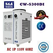 Usa 110v Sanda Cw-5300di Water Chiller For 1x200w Co2 Laser/75w Solid-state Laser