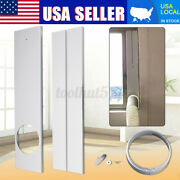 2pcs 67-120cm Portable Window Kit Plate Round Adapter For Air Conditioner Iand