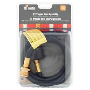 Mr. Heater 5' Propane Hose Assembly W/appliance End Fitting, Black