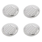 4 Pieces Louvered Vent Marine Boat Yacht Air Vents Air Ventilation Cover