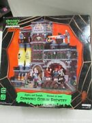 Lemax Spooky Town Grinning Goblin Brewery New In Box Mb