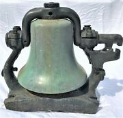 Prr Pennsylvania Railroad 16 Train Steam Locomotive Brass Bell Early 1900and039s