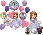 Sofia The First Party Supplies Birthday Balloon Sing-a-tune And Airwalker Bou...
