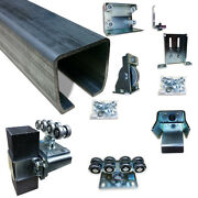 Cantilever Slide Gate Trolley Rolling Gate Post Mount And Truck Assembly
