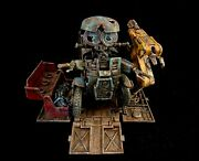 Custom Painted Sqweeks Transformers Toy From Transformers The Last Knight