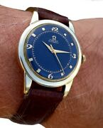 Antique High End 17 Jewels Automatic Wrist Watch Omega. Caliber 354 Running