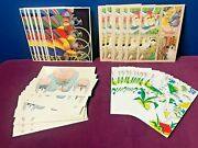 Large Lot Of Vintage Illustrated Postcards - Children's Books - Alfred A Knopf