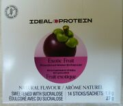 Ideal Protein Exotic Fruit Powder Water Enhancer 24 Boxes Of 14