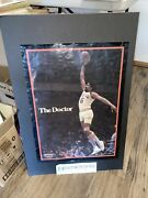 Vtg 70and039s/80and039s Dr J Julius Erving Converse Poster The Doctor 17x23 288a