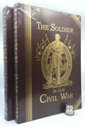 Easton Press Soldier In Our Civil War 2v Leather Deluxe Illustrated Maps Sealed