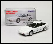 Tomica Limited Vintage Neo Lv-n235b Nissan 180sx Type-ii White 1/64 Tomytec S13