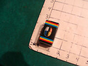 Vintage Cube Puzzle Wonderful Puzzler Keychain In Package, Cylinder Mini 1981