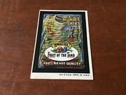 Vintage Original 1970's Wacky Packages Sticker - Mummy T-shirt Fruit Of The Tomb