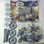 Lego 8098 Star Wars Clone Wars Turbo Tank Parts Bag 2 Instructions Incomplete