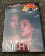 Color Of Night - Directors Cut - Very Good Bruce Willis Jane March